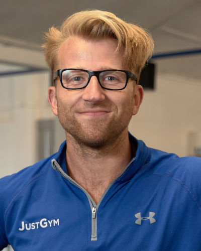 James Wilkinson - Just Gym Saffron Walden Owner Personal Trainer and Fitness Expert